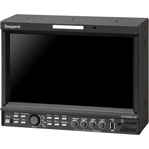 Ikegami 9-Inch Hdtv/Sdtv Mulc-Format Lcd Monitor, Full Hd Widescreen 1920X1080 Resolucon, Ac/Dc Input. Inclu