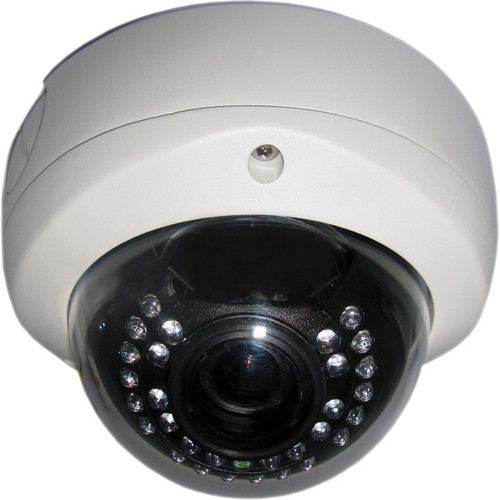 Ikegami ICD-D11-2812 True Day & Night Vandal-Resistant IR Color Dome Camera (NTSC)
