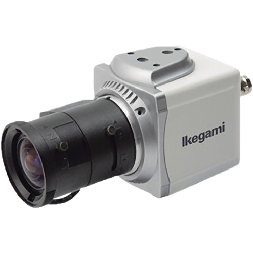 Ikegami ISD-A15 Compact Cube Color Camera with 5.5 to 50mm Lens and Mount