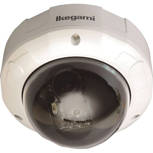 Ikegami ISD-A35S Type 92 Vandal Resistant Hyper-Dynamic Dome Camera (White)