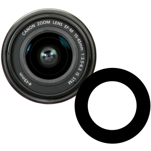 Ikelite Anti-Reflection Ring for Canon EF-M 15-45mm f/3.5-6.3 IS STM Lens in Underwater Dome Port