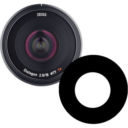 Ikelite Anti-Reflection Ring for ZEISS Batis 18mm f/2.8 Lens Lens in Underwater Dome Port
