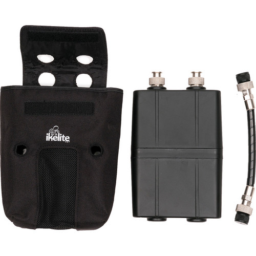 Ikelite PRO/SpD Double Battery Pack Kit for PRO Video & SpD Light Heads