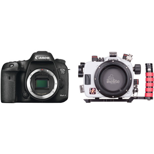 Ikelite 200DL Underwater Housing and Canon EOS 7D Mark II DSLR Camera Body Kit