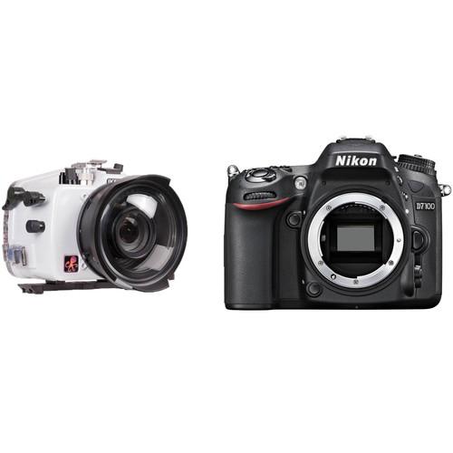 Ikelite 200DL Underwater Housing and Nikon D7100 Camera Body Kit