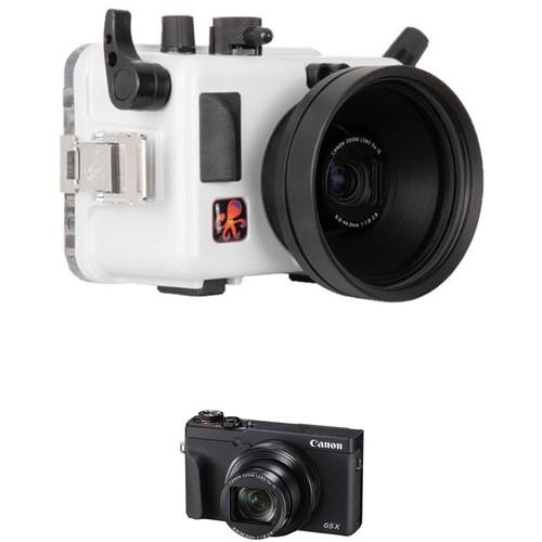 Ikelite Underwater Housing and Canon PowerShot G5 X Mark II Digital Camera Kit