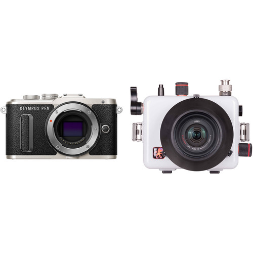 Ikelite 200DLM/A Underwater Housing and Olympus PEN E-PL8 Micro Four Thirds Camera Body Kit