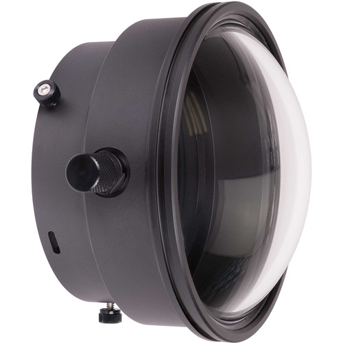 """Ikelite DLM 6"""" Dome Port with Zoom Control and 0.375"""" Extension for Mirrorless Lenses"""