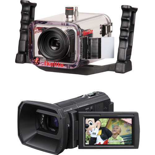 Ikelite 6038.55 Underwater Housing Kit with Sony HDR-CX580V Camcorder