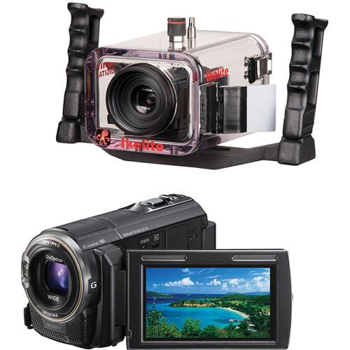 Ikelite Ikelite Underwater Housing with Sony HDR-PJ580V HD Handycam Camcorder Kit