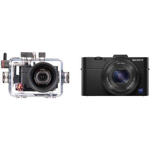 Ikelite Underwater Housing with Sony Cyber-shot DSC-RX100 II Digital Camera Kit