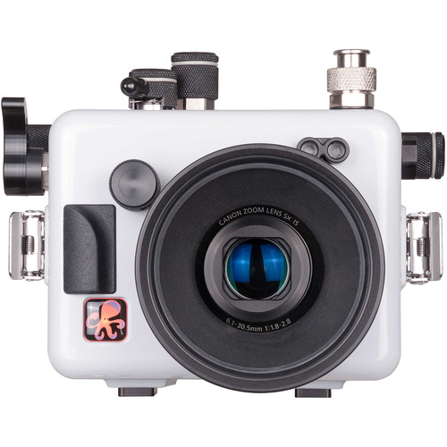 Ikelite Underwater Housing with TTL Circuitry for Canon PowerShot G16 (Updated Version, White)