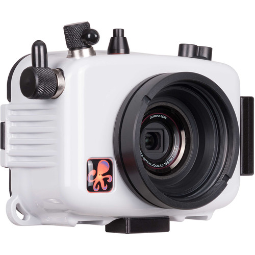 Ikelite Underwater Housing for Olympus Tough TG-3 or TG-4 (Updated Version)