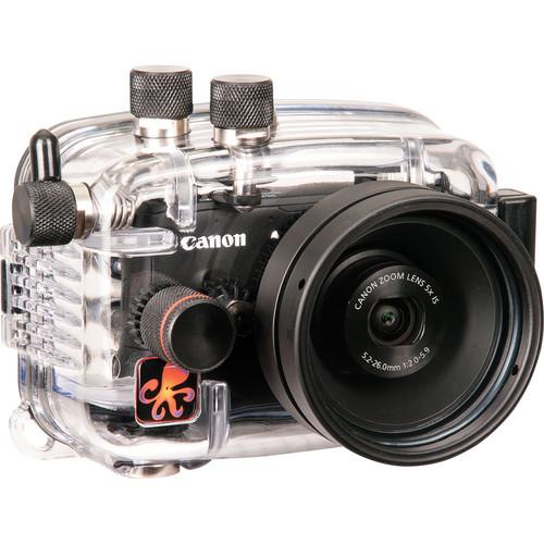 Ikelite 6242.11 Compact Digital Underwater Housing for Canon PowerShot S110 Camera