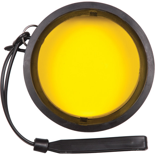 "Ikelite 3.6"" Yellow Barrier Filter for Underwater Lens Ports"