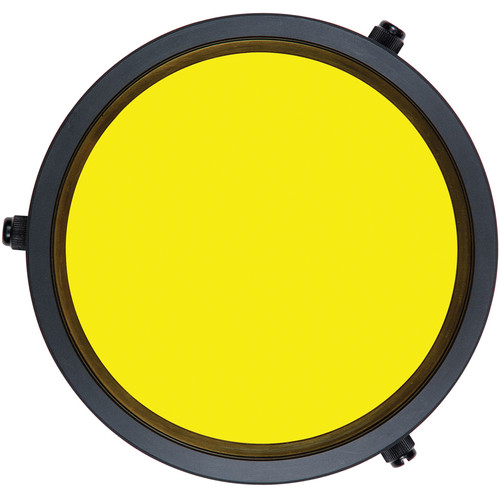 Ikelite Yellow Barrier Filter for Flat DSLR Lens Ports on Underwater Housings