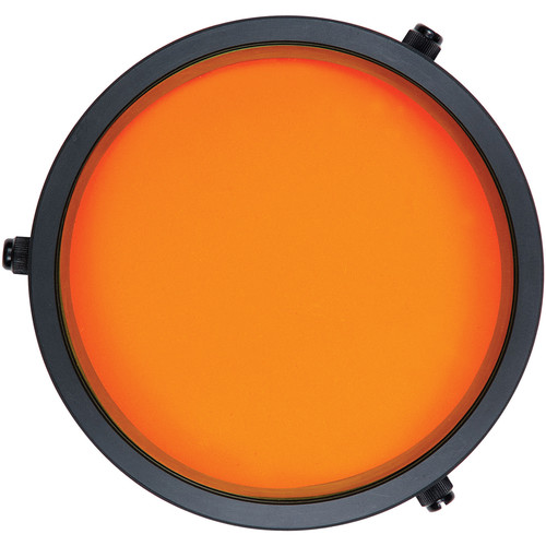 Ikelite Orange UR/Pro Color-Correcting Filter for FL Flat Lens Ports in Tropical Blue Water