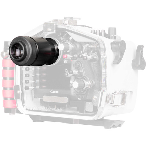 Ikelite Straight Magnified Optical Viewfinder for DSLR and Mirrorless Housings (Type 2)