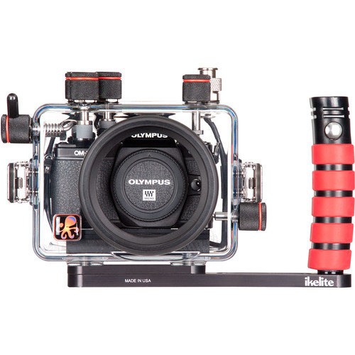 Ikelite Underwater Housing with TTL Circuitry for Olympus OM-D E-M10 Mark II