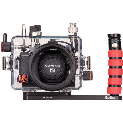 Ikelite Underwater Housing with TTL Circuitry for Olympus OM-D E-M5