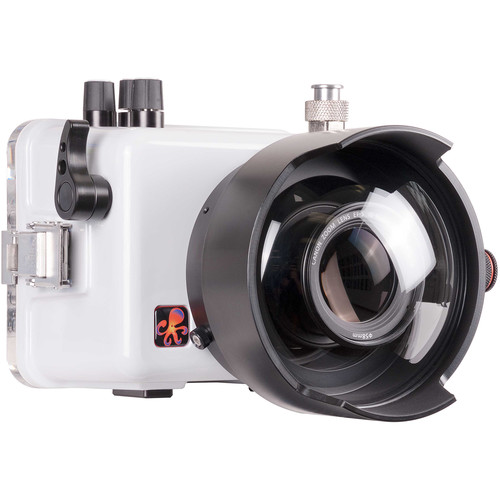 "Ikelite 200DLM/C Underwater TTL Housing for Canon EOS Rebel SL2 with 6"" Dome Port for Select Lenses"
