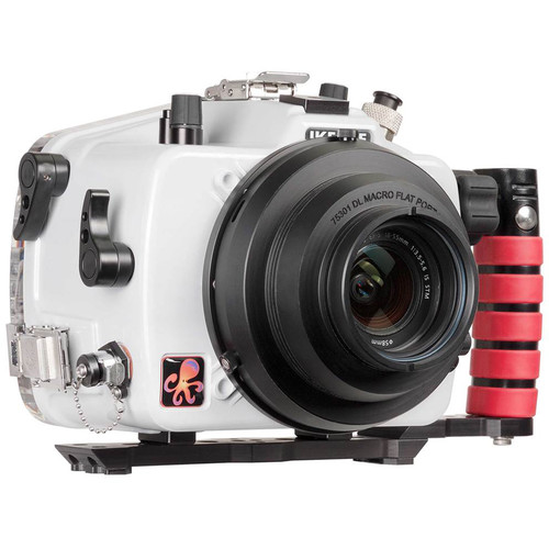 Ikelite 200DL Underwater Housing for Canon EOS 77D or 9000D with Dry Lock Port Mount