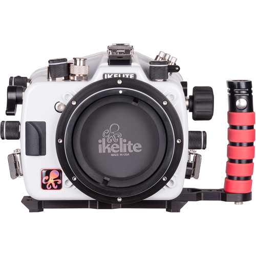 Ikelite 50DL Underwater Housing for Nikon D500 with Dry Lock Port Mount and Vacuum Valve (50')