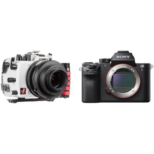 Ikelite 200DL Underwater Housing & Sony Alpha a7R II Mirrorless Digital Camera Body Kit