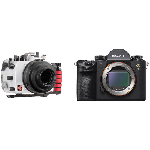 Ikelite 200DL Underwater Housing and Sony Alpha a9 Camera Body Kit