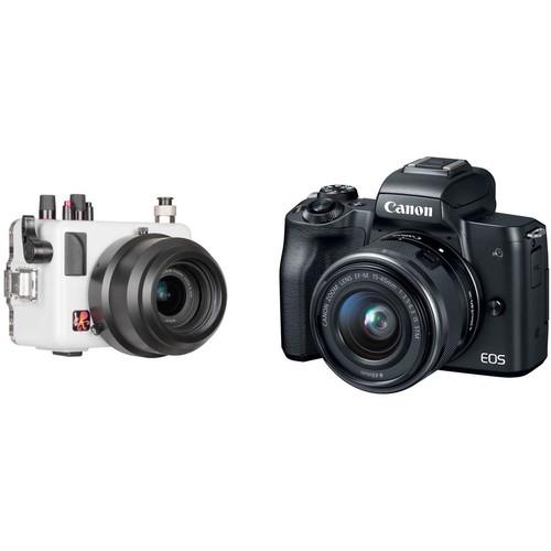 Ikelite 200DL Underwater Housing & Canon EOS M50 Mirrorless Camera Kit