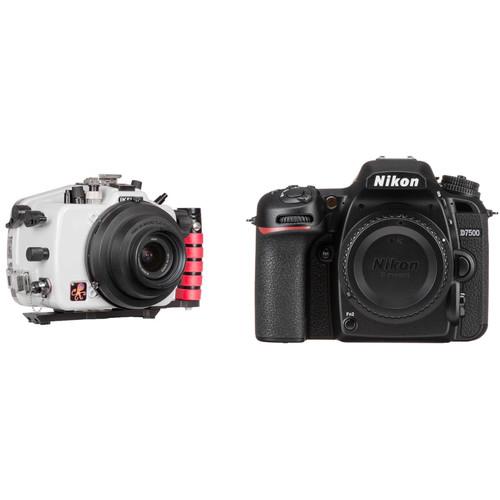 Ikelite 200DL Underwater Housing and Nikon D7500 Camera Body Kit