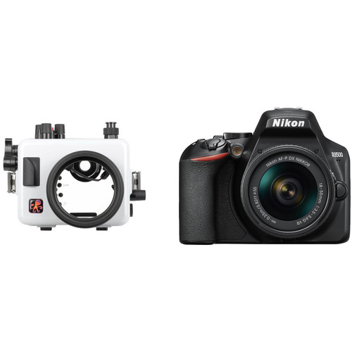 Ikelite 200DLM/C Underwater Housing and Nikon D3500 Camera Body Kit