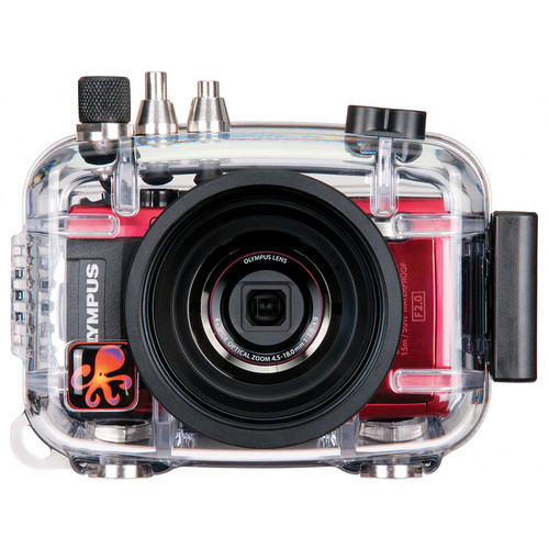 Ikelite Ikelite Underwater Housing Kit with Olympus Stylus TOUGH TG-4 Digital Camera (Red)