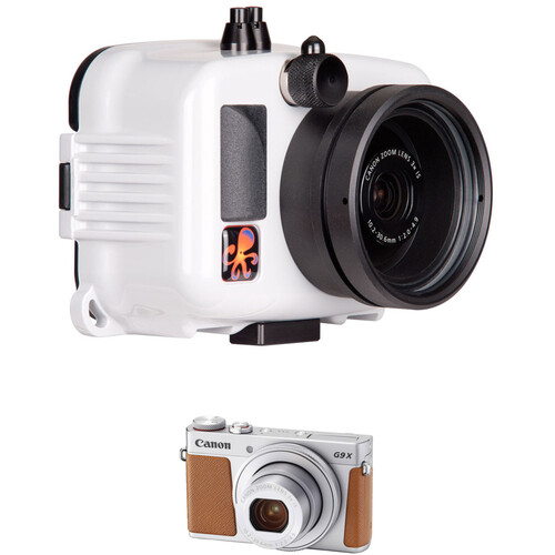 Ikelite Underwater Action Housing and Canon PowerShot G9 X Mark II Camera Kit