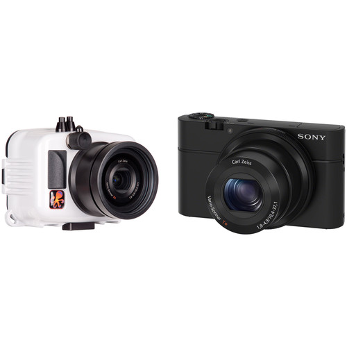 Ikelite Underwater Action Housing and Sony Cyber-shot RX100 Camera Kit