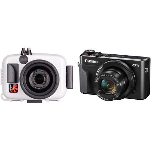 Ikelite Underwater Action Housing and Canon PowerShot G7 X Mark II Camera Kit