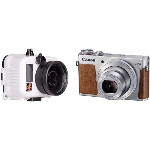 Ikelite Underwater Action Housing and Canon PowerShot G9 X Digital Camera Kit