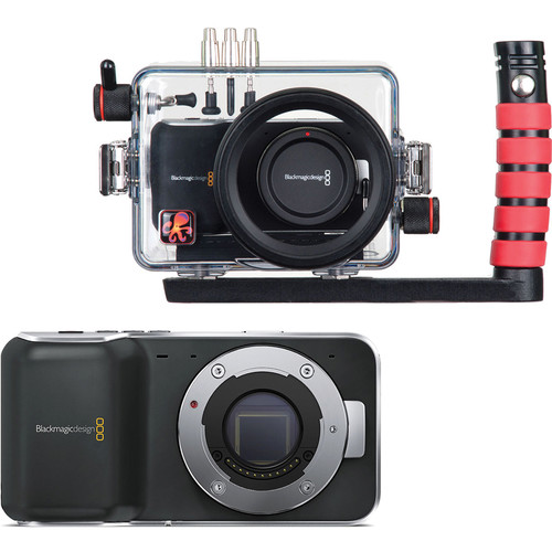 Ikelite Underwater Dive & Surf Housing with Blackmagic Design Pocket Cinema Camera Kit
