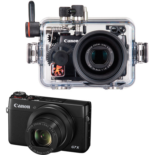 Ikelite Underwater Housing and Canon PowerShot G7 X Digital Camera Kit