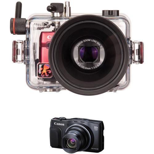 Ikelite Underwater Housing and Canon PowerShot SX710 HS Digital Camera Kit