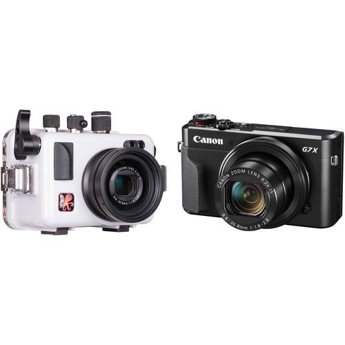 Ikelite Underwater Housing and Canon PowerShot G7 X Mark II Digital Camera Kit