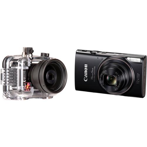 Ikelite Underwater Housing and Canon PowerShot ELPH 360 HS Digital Camera Kit