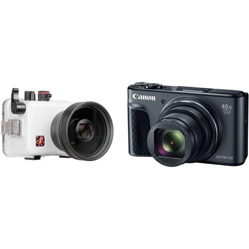 Ikelite Underwater Housing and Canon PowerShot SX730 HS Digital Camera Kit