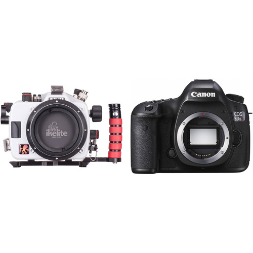Ikelite Underwater Housing and Canon EOS 5DS R DSLR Camera Body Kit