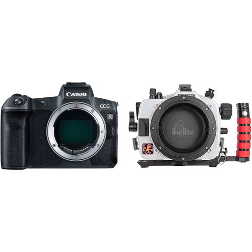 Ikelite Underwater Housing and Canon EOS R Mirrorless Digital Camera Body Kit