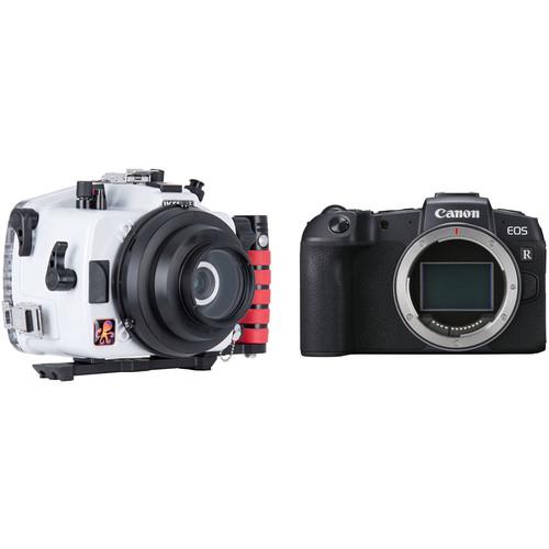 Ikelite Underwater Housing and Canon EOS RP Mirrorless Digital Camera Body Kit