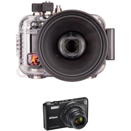 Ikelite Underwater Housing and Nikon COOLPIX S7000 Digital Camera Kit