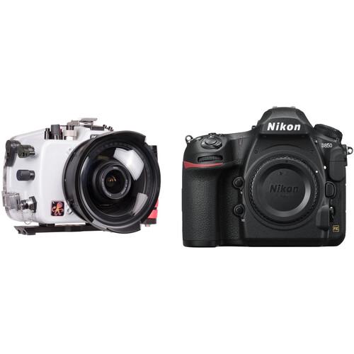 Ikelite Underwater Housing and Nikon D850 DSLR Camera Body Kit