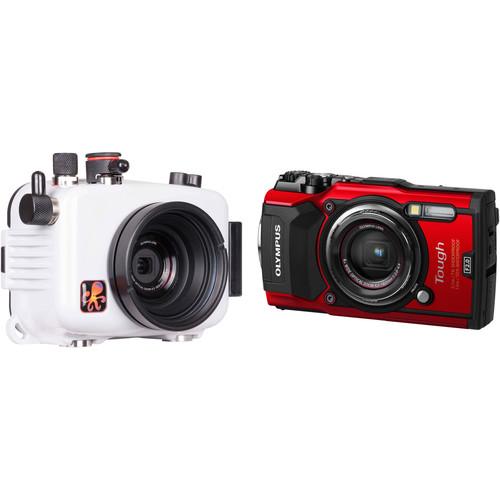Ikelite Underwater Housing and Olympus Tough TG-5 Digital Camera Kit