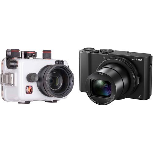 Ikelite Underwater Housing and Panasonic Lumix DMC-LX10 Digital Camera Kit